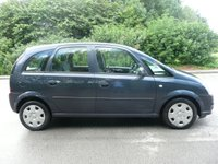 USED 2009 09 VAUXHALL MERIVA 1.7 CLUB CDTI 16V 5d 100 BHP PX Bargain to Clear, New 12 Month MOT, FSH, Diesel
