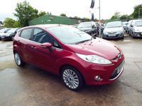 USED 2010 60 FORD FIESTA 1.6 TITANIUM TDCI 5d 94 BHP ONE OWNER FROM NEW / FULL SERVICE HISTORY