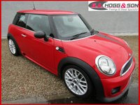 2011 MINI HATCH ONE 1.6 ONE D 3dr 90 BHP REGISTERED DECEMBER 2011 £6995.00