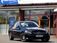 USED 2014 64 MERCEDES-BENZ C CLASS C220 BLUETEC SE 4dr AUTO (170) AMG Alloys Nav & Leather
