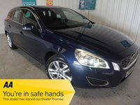 USED 2011 61 VOLVO V60 2.0 D3 SE LUX 5d 161 BHP