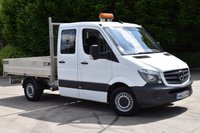 USED 2013 63 MERCEDES-BENZ SPRINTER 2.1 313 CDI D/CAB MWB 4d 129 BHP EURO 5 DIESEL MANUAL TIPPER ONE OWNER SERVICE HISTORY EURO5 ENGINE WITH SPARE KEY