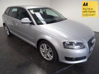 USED 2010 10 AUDI A3 2.0 TDI SPORT 5d AUTO 168 BHP HISTORY-A/C-ISOFIX POINTS