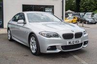 2012 BMW 5 SERIES 2.0 525D M SPORT 4d 215 BHP £14690.00
