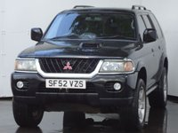 USED 2002 52 MITSUBISHI SHOGUN SPORT 2.5 ANIMAL CLASSIC TD 5d 114 BHP SATALITE NAVIGATION, BLUETOOTH & ALLOY WHEELS, SIDE STEPS AND REAR PRIVACY GLASS