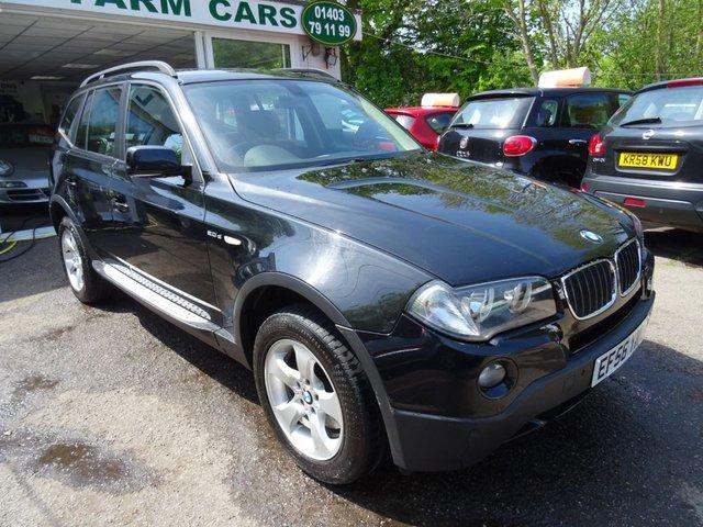 2006 56 BMW X3 2.0 D SE 5d 148 BHP