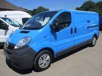 USED 2010 60 VAUXHALL VIVARO 2900 CDTI 115BHP LWB EX BRITISH GAS WITH HISTORY