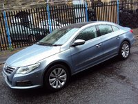 USED 2009 09 VOLKSWAGEN PASSAT CC 1.8 CC TSI 4d 160BHP GLASS ROOF AND SATNAV FSH+2KEYS+TOP SPEC+SATNAV+CDC+