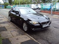 USED 2010 60 BMW 5 SERIES 2.0 520D SE 4d 181BHP NEWSHAPE FSH 6STAMPS+LEATHER SEATS+CDC+