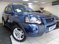 2006 LAND ROVER FREELANDER 2.0 TD4 FREESTYLE 5d AUTO 110 BHP £3495.00