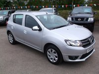 USED 2013 13 DACIA SANDERO 0.9 LAUREATE TCE 5d 90 BHP AFFORDABLE FAMILY CAR IN EXCELLENT CONDITION, DRIVES SUPERBLY WITH EXCELLENT SERVICE HISTORY