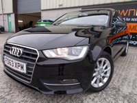 USED 2014 63 AUDI A3 1.6 TDI SE 3d 104 BHP Only One Owner, Low Mileage, FSH, No Fee Finance Available