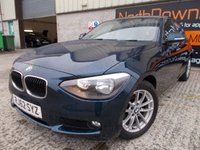 USED 2013 62 BMW 1 SERIES 2.0 118D SE 5d 141 BHP Excellent Condition, One Owner, FSH, Low Rate No Fee Finance Available