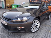 USED 2014 14 VOLKSWAGEN SCIROCCO 2.0 GT TDI BLUEMOTION TECHNOLOGY 2d 140 BHP FSH, One Owner, Superb Condition, No Fee, No Deposit Necessary Finance