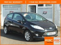 USED 2010 60 FORD FIESTA 1.2 ZETEC 3d 81 BHP Bluetooth -Front Quick Clear