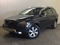 USED 2012 62 VOLVO XC90 2.4 D5 SE NAV AWD 5d AUTO 200 BHP 7 SEATER LEATHER PDC ONE OWNER FSH 4WD. 7 SEATER. SATELLITE NAVIGATION. STUNNING GREY MET WITH FULL BLACK LEATHER TRIM. ELECTRIC MEMORY HEATED SEATS. CRUISE CONTROL. 18 INCH ALLOYS. COLOUR CODED TRIMS. BLUETOOTH PREP. CLIMATE CONTROL. R/CD PLAYER. MFSW. MOT 05/18. ONE OWNER FROM NEW. FULL SERVICE HISTORY. PRISTINE CONDITION. FCA FINANCE APPROVED DEALER. TEL 01937 849492.