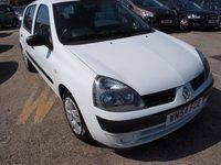 2004 RENAULT CLIO 1.4 EXPRESSION 16V 5d AUTO 98 BHP £1995.00