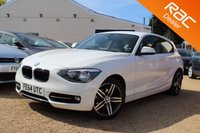 USED 2014 64 BMW 1 SERIES 2.0 116D SPORT 3d AUTO 114 BHP Bluetooth, Cruise Control & more