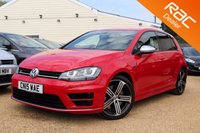 USED 2015 15 VOLKSWAGEN GOLF 2.0 R 5d 298 BHP Bluetooth, Xenons, VW warranty