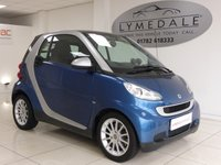 USED 2007 57 SMART FORTWO 1.0 PASSION 2d AUTO 70 BHP FULL SERVICE HISTORY £30 ROAD TAX LOW INS GRP (4) HIGH MPG