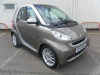 USED 2011 61 SMART FORTWO 1.0 PASSION MHD 2d AUTO 71 BHP