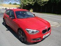 2013 BMW 1 SERIES 1.6 116I SPORT 5d 135 BHP £10695.00