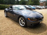 USED 2003 53 BMW Z4 2.5 Z4 ROADSTER 2d 190 BHP Full Leather Seats,  Low Miles , Popular Sports Car