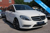 USED 2014 14 MERCEDES-BENZ B CLASS 1.5 B180 CDI AUTO SPORT FULL CREAM LEATHER