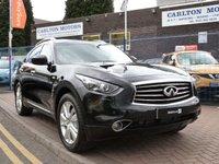2014 INFINITI QX70 3.0 S PREMIUM D 5d AUTO  £21995.00