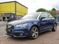 "USED 2011 60 AUDI A1 1.4 TFSI SPORT  BLUETOOTH ~ 17"" BI COLOUR ALLOYS ~ CONNECTIVITY PACKAGE ~ LIGHT AND RAIN SENSOR PACKAGE ~ REAR PARK SENSORS"