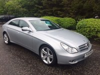 USED 2008 58 MERCEDES-BENZ CLS CLASS 3.0 CLS320 CDI SAT NAV 4d AUTO 222 BHP 6 MONTHS PART AND LABOUR WARRANTY