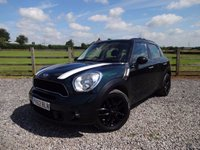 USED 2012 62 MINI COUNTRYMAN 2.0 COOPER SD 5d 141 BHP ONLY 2 PRIVATE OWNERS FROM NEW + FMSH