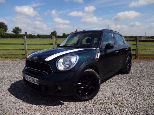 2012 62 MINI COUNTRYMAN 2.0 COOPER SD 5d 141 BHP