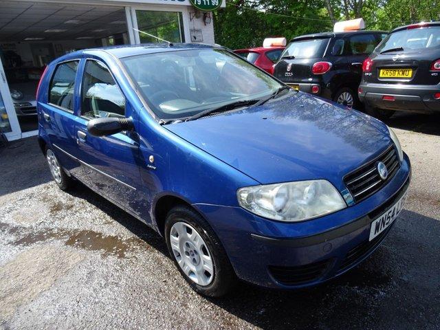 2004 54 FIAT PUNTO 1.2 8V ACTIVE 5d 59 BHP
