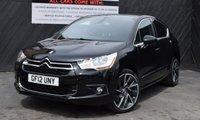 2012 CITROEN DS4 1.6 THP DSPORT 5d 197 BHP £6950.00
