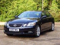 2007 LEXUS GS 3.0 300 SE 4d AUTO 245 BHP £3295.00