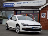 USED 2013 13 VOLKSWAGEN SCIROCCO 2.0 TDi BLUEMOTION TECHNOLOGY 2dr 140 BHP  *ONLY 9.9% APR with FREE Servicing*