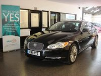 USED 2011 11 JAGUAR XF 3.0 V6 PREMIUM LUXURY 4d AUTO 240 BHP This XF is finished in Metallic Black with full Black Heated leather seats. It is fitted with power steering, remote locking, electric windows and mirrors with power fold, climate control, cruise control, telephone, Sat Nav, heated seats, rear parking sensors, alloy wheels, CD Stereo with Aux port and more. It comes with a full service history from Jaguar and a Land Rover garage done at 14069/26401/33217/41534/49588. The advisory free Mot is May 2018. Finance /extended warranties available