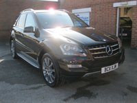 2011 MERCEDES-BENZ M CLASS 3.0 ML350 CDI BLUEEFFICIENCY GRAND EDITION 5d AUTO 231 BHP £SOLD