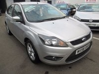 USED 2008 58 FORD FOCUS 1.6 ZETEC 5d AUTOMATIC  100 BHP