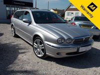 USED 2004 04 JAGUAR X-TYPE 2.5 V6 SE 5d 195 BHP JAGUAR HERITAGE - 2.5 LITRE SUPER CAR TO DRIVE!