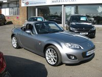 USED 2010 60 MAZDA MX-5 2.0 MIYAKO ROADSTER I 2d 158 BHP One Private Owner Full Mazda History Full Leather. Air conditioning climate control. Hard top convertible.