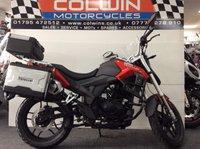 USED 2017 67 SINNIS TERRAIN BRAND NEW SINNIS TERRAIN 125cc  125cc LEARNER LEGAL MOTORCYCLE