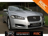 USED 2012 12 JAGUAR XF 2.2 D PORTFOLIO 4d AUTO 190 BHP A STUNNING XF WHICH HAS HAD ONE OWNER, COMES WITH FULL JAGUAR HISTORY AND HAS BIG SPECIFICATION!!!