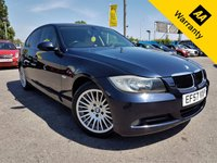 USED 2007 57 BMW 3 SERIES 2.0 320D SE 4d 174 BHP! p/x welcome!FULL CREAM LEATHER! PARKING AID! CRUISE & CLIMATE CONTROL! FULL SRVC HIST! PRIVACY GLASS! PUSH START! NEW MOT! SERVICED! FULL CREAM LEATHER+PARKING AID+FULL S-HIST+CRUISE & CLIMATE CONTROL+PUSH START+PRIVACY GLASS+NEW MOT+SERVICED!