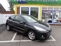 USED 2010 60 PEUGEOT 207 1.4 MILLESIM 3d 95 BHP 12 MONTHS MOT... 3 MONTHS WARRANTY.. FINANCE AVAILABLE