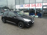 USED 2012 12 CITROEN DS3 1.6 E-HDI DSTYLE PLUS 3d 90 BHP FREE 12 MONTHS RAC WARRANTY AND FREE 12 MONTHS RAC BREAKDOWN COVER