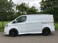 2014 FORD TRANSIT CUSTOM 2.2 290 LIMITED LR  125 BHP RS STYING PACK AIR CON CRUISE £14250.00
