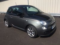 USED 2013 63 FIAT 500 1.2 69 BHP MANUAL GQ LIMITED EDITION STUNNING BLACK LEATHER INTERIOR!