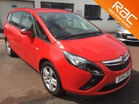 USED 2014 14 VAUXHALL ZAFIRA TOURER 1.4 EXCLUSIV 5d 138 BHP